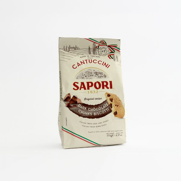 Sapori Cantuccini Dark Chocolate Chunks Biscotti