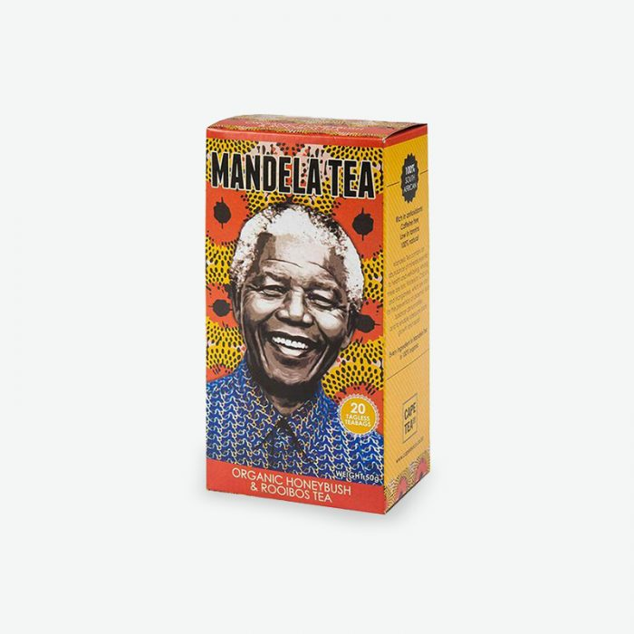 Mandela Tea – Organic Honeybush & Rooibos Tea