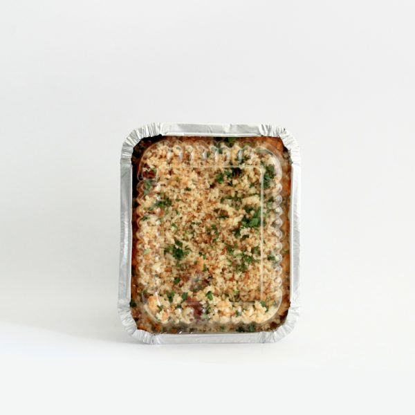 Italo´s Vegan Bake (ready for oven heating)